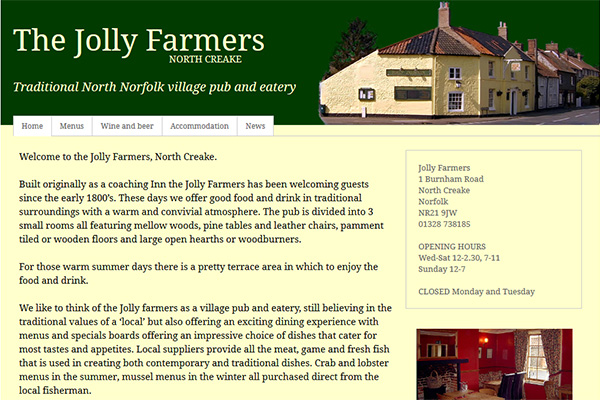 Jolly Farmers, North Creake