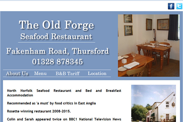 The Old Forge Seafood Restaurant