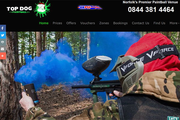 Top Dog Paintball
