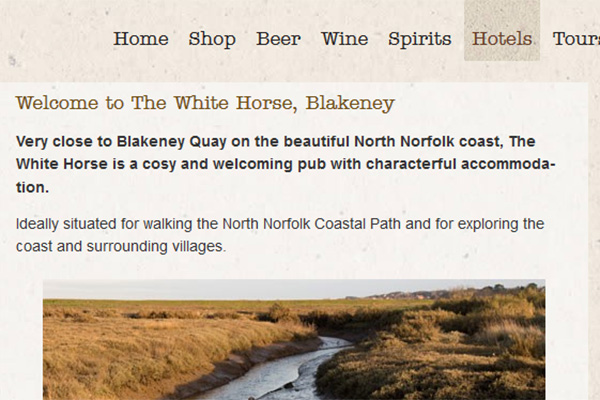 White Horse, Blakeney