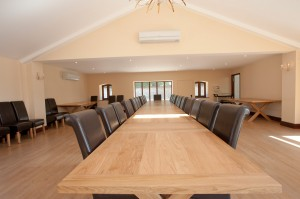 Function Hall table and chairs