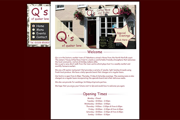 Q's Coffee Shop & Bistro