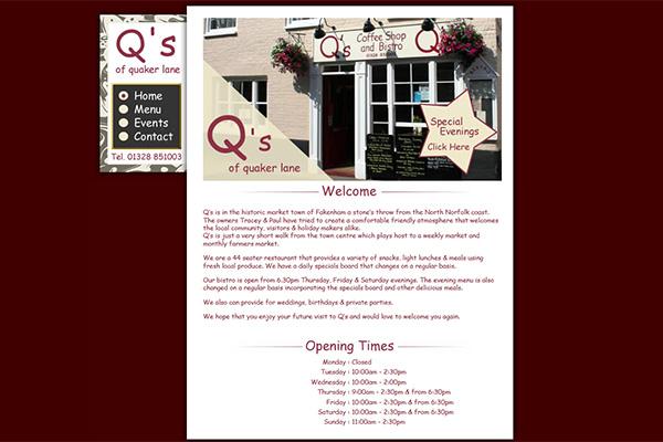 Q's Coffee Shop & Bistro